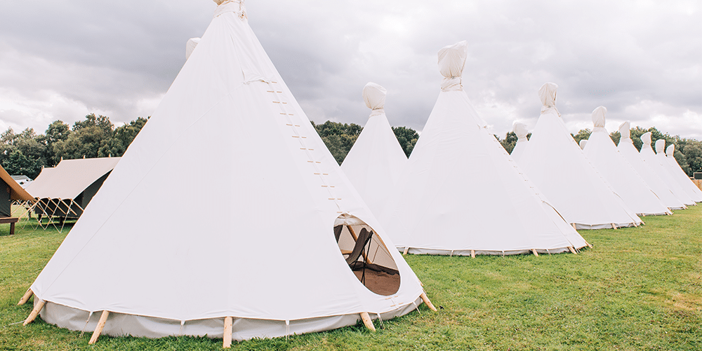 The Luxury Tipi Festival Number 6
